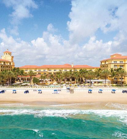 resort on beach