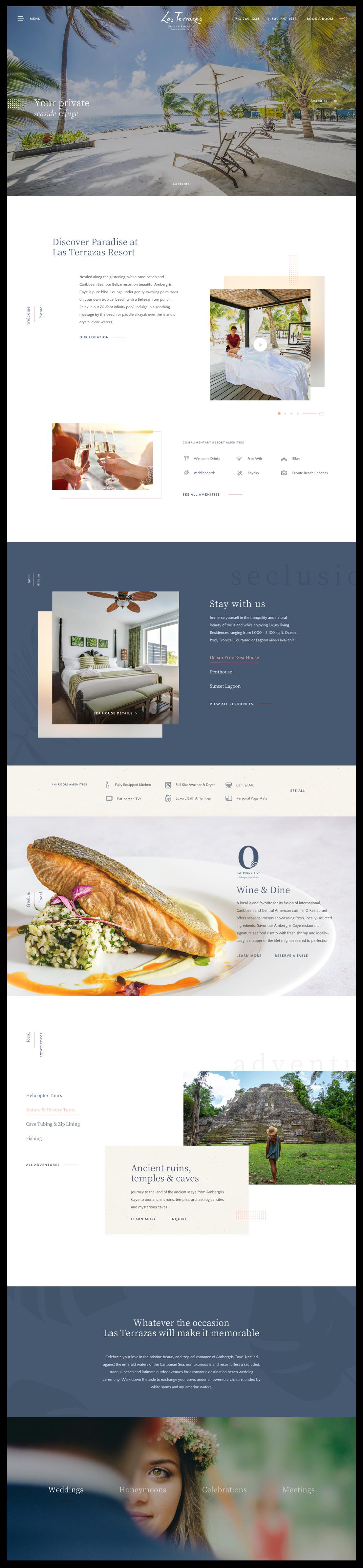 Las Terrazas Home Page